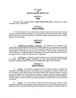 Bylaws – Horse Farms Forever.2