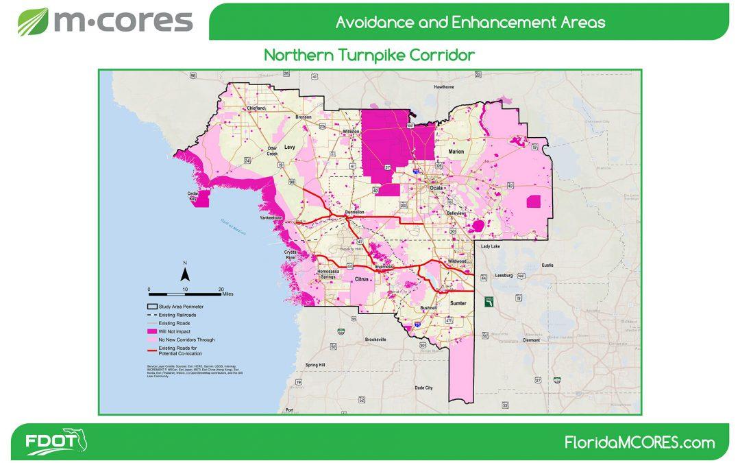"M-Cores Map Designates the Farmland Preservation Area ""Off Limits"" for Toll Roads"