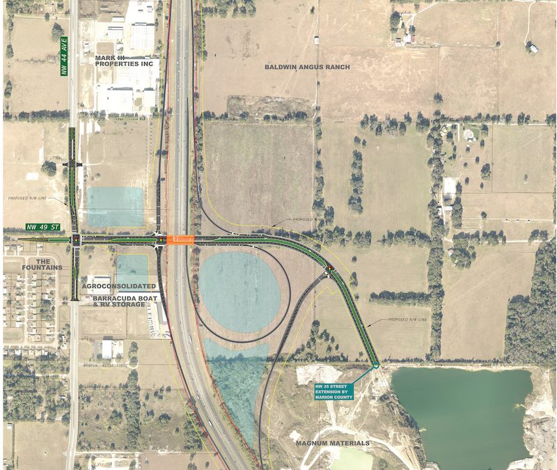 Public Hearing Notice: I75 Interchange at NW 49th Street