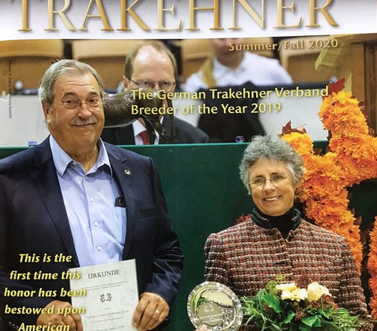 A Barrier-Breaking Honor for an American Trakehner Breeder