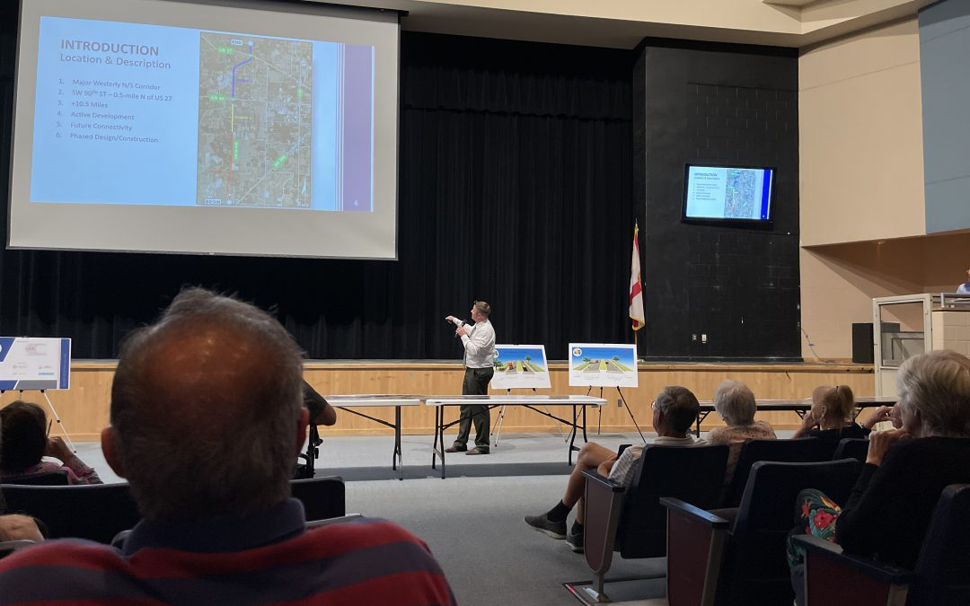 Road Widening Public Hearing Stresses the Need for Public Input